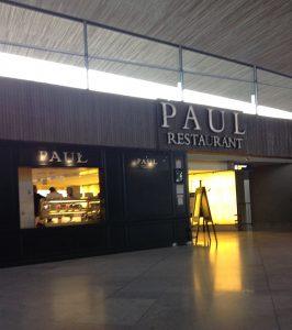シャルル・ド・ゴール空港内 PAUL