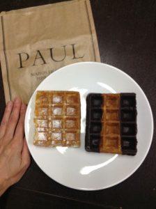 PAULのワッフル