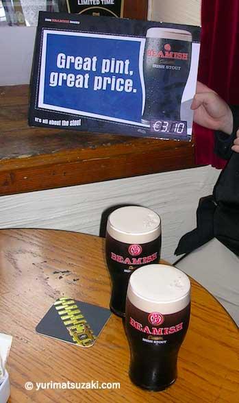 アイルランドのスタウト「ビーミッシュ」