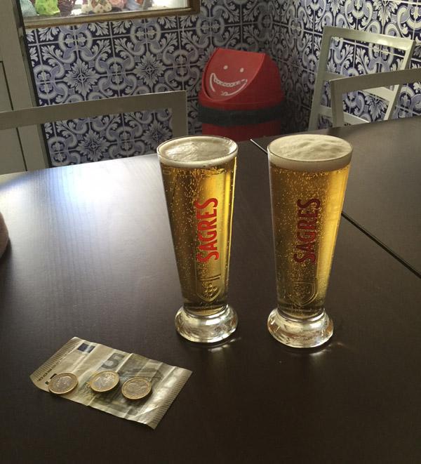 モンサントのビール