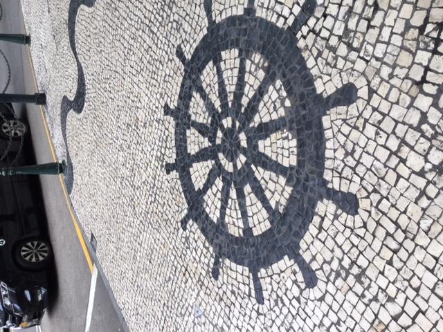 カルサーダス(ポルトガルの石畳)