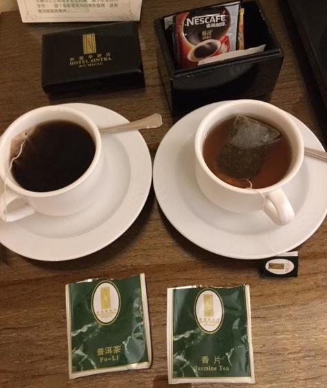 マカオのお茶
