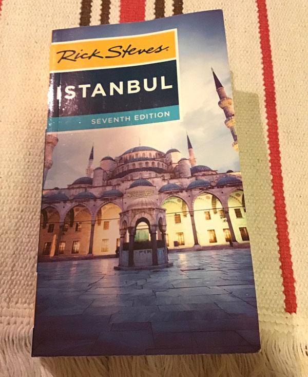 とてもよいイスタンブールのガイドブック